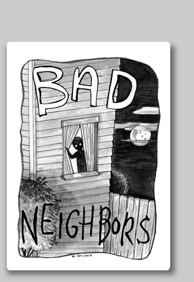 Bad Neighbors Card Game